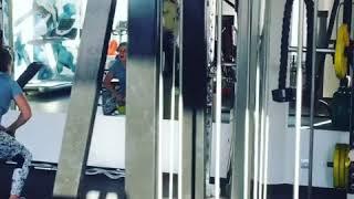Functional в тренажерном зале групповой урок в тренажерном зале , работаем по кругу на все мышцы