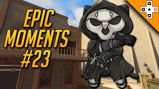 Overwatch Epic Moments #23 - Highlights Montage