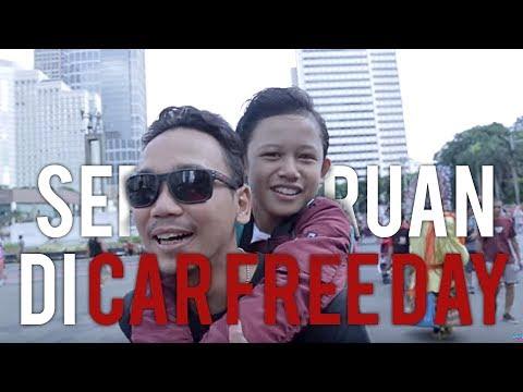 Seru Seruan Di Car Free Day Jakarta #NavisVlog