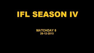 IFL Season IV - Matchday 8
