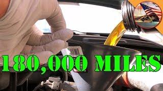 '05 Chrysler 300: 180,000 Mile Oil Change