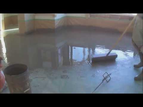 How To Level Concrete Subfloor: Preparation for Laminate or Hardwood floor Mryoucandoityourself