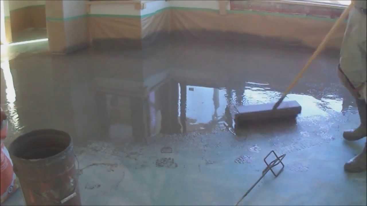Concrete Subfloor Preparation before Installing Laminate