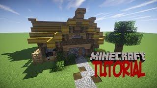 minecraft casa medieval rustica tutorial