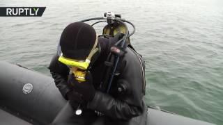 قوات بحرية روسية خاصة تتدرب على استهداف العدو من تحت سطح الماء