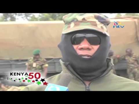 #Kenya @50; KDF Special forces