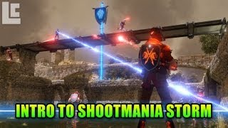 Introduction To ShootMania Storm (Shootmania Storm Beta Gameplay/Commentary)