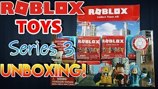 ROBLOX | HUGE Series 3 Mystery Box UNBOXING!!!