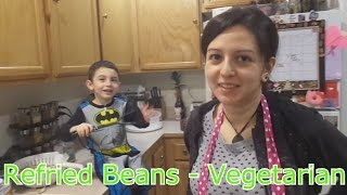 How To: Vegetarian Refried Beans