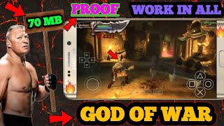 (70 MB) GOD OF WAR CHAINS OLYMPUS FULL GAME HIGHLY COMPRESSED ON ANDROID WITH PROOF.