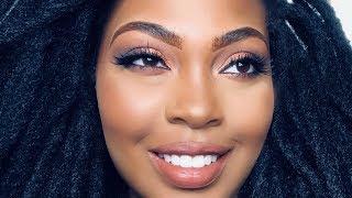 Prom Makeup| Neutral Brown Smokey Eye