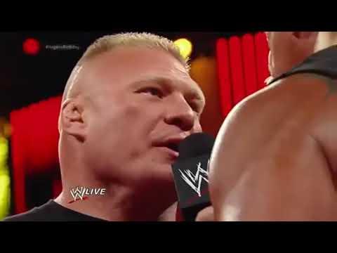 Adha Pind|| John Cena Saves Hulk Hogan From Brock Lesnar With punjabi song