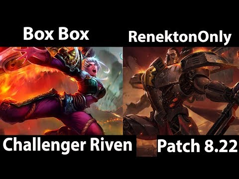 [ Box Box ] Riven vs Darius [ RenektonOnly ] Top  - Last Day Of The Season