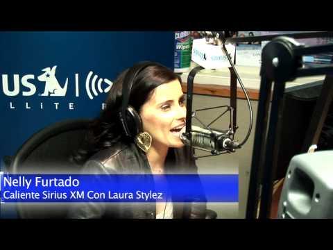 Nelly Furtado con Laura Stylez en Caliente Sirius XM