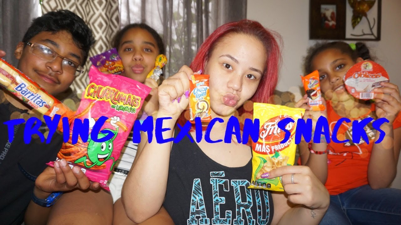 TRYING MEXICAN SNACKS|EMY'S MAKEUP ROOM