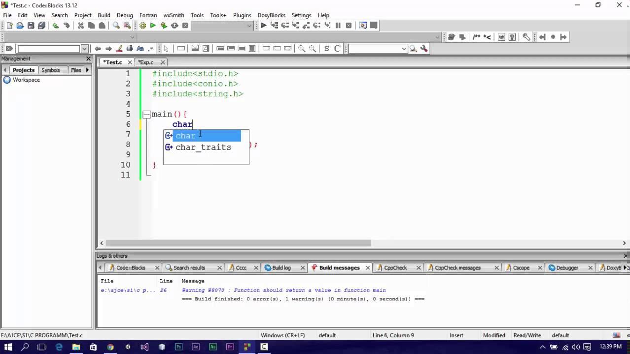C Programming - 2D Char Array - Part 4 - YouTube