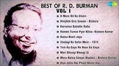 Best Of R D Burman Songs   Audio Jukebox O Mere Dil Ke Chain   Rimjhim Gire Sawan   Karvaten Badalte