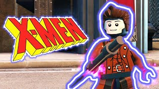 LEGO X-MEN Gambit Custom LEGO DC Supervillains Videogame Guide