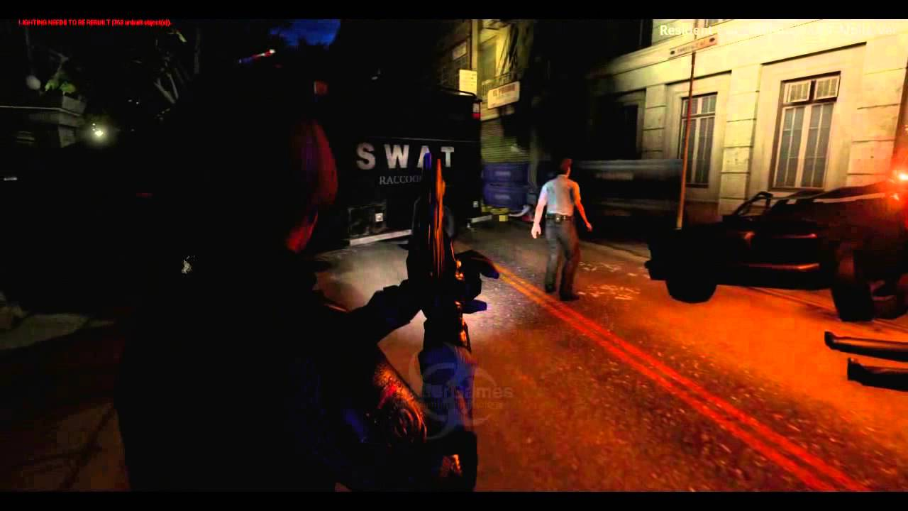 RESIDENT EVIL 2 REBORN - Gameplay Trailer Unreal Engine 4 (InvaderGames,  July 2015) - PART 1/2