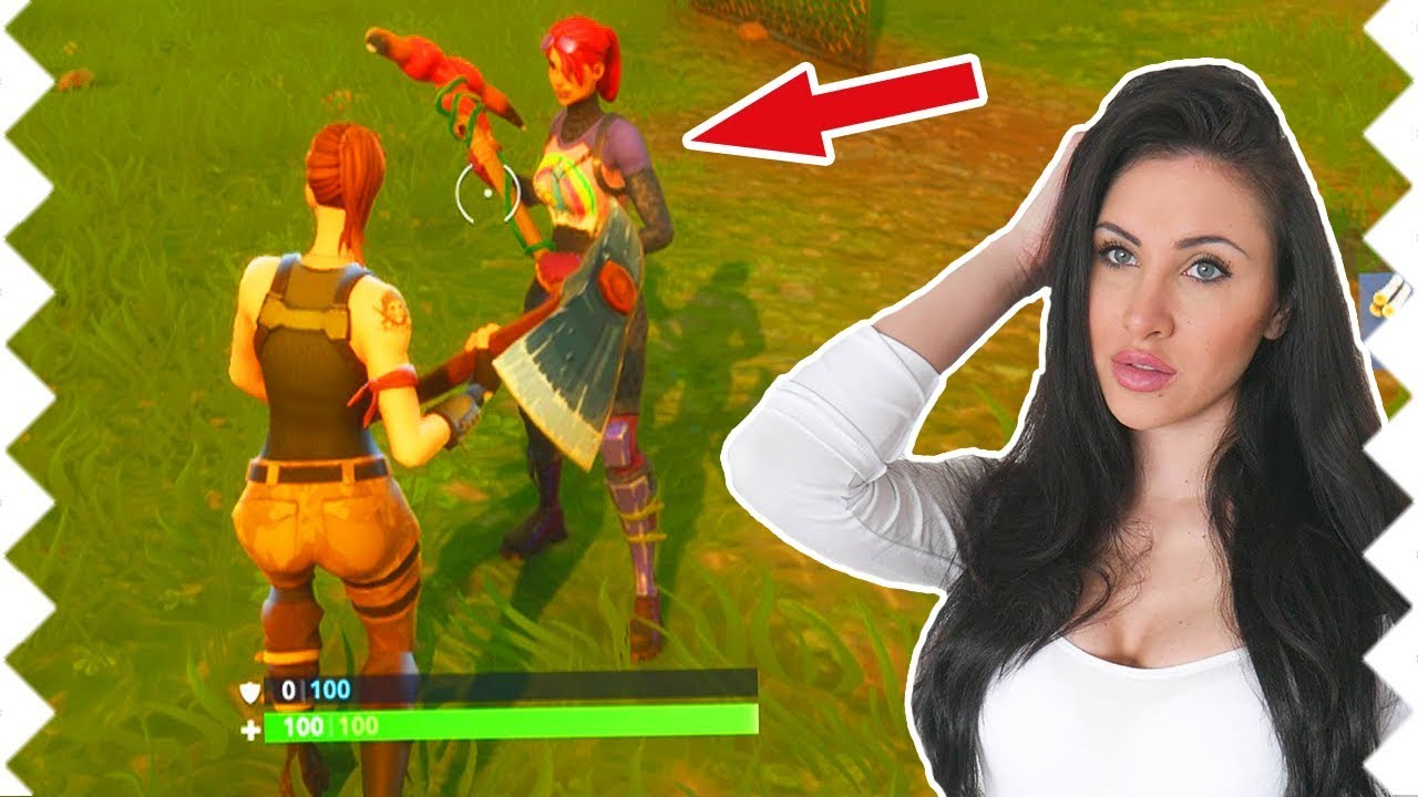 Saftigesgnu Zeigt Mir Ihre Skins In Fortnite Youtube