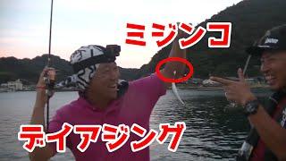 日中でも漁港でアジが釣れる魔法のルアーミジンコ【釣りいろはコラボ】