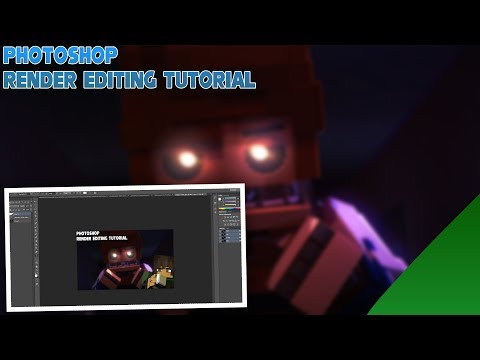 Photoshop Tutorial | How To Make A Edited Render thumbnail