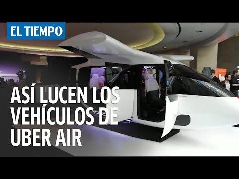 ¿Uber volador? Así lucen los vehículos aéreos para su futuro servicio | EL TIEMPO