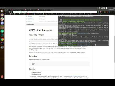 How to install mcpelauncher-linux