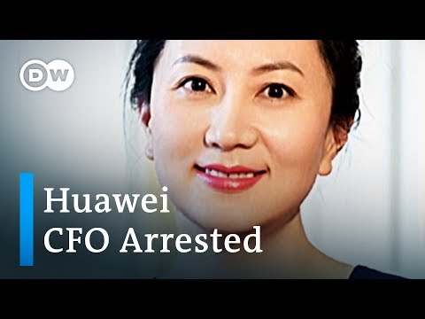 Top Huawei executive arrested in Canada on behalf of USA | DW News