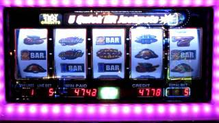Quick Hit Slot Machine Jackpot Bonus Winning Las Vegas Strip Nevada