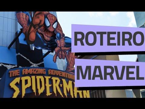 ROTEIRO ISLANDS OF ADVENTURE// PARTE 4 - MARVEL SUPER HERO ISLAND - Vai Pra Disney?