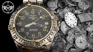Download lagu Restoration of an abandoned Breitling Automatic Watch - Breitling Colt A17035