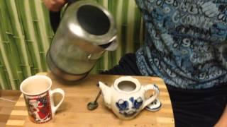 видео Чай для «чайников». Выпуск 11.Самый быстрый способ заварки