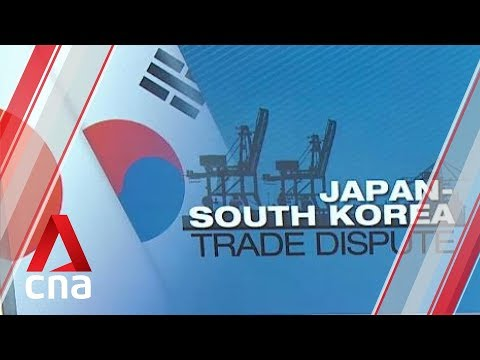 Trade tensions between Japan and South Korea on the rise