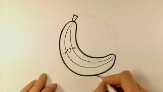 How to Draw a Cartoon Banana