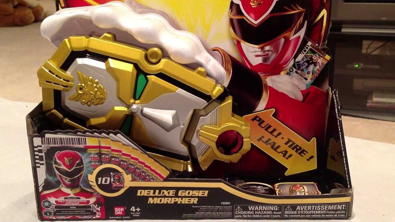POWER RANGERS Deluxe Gosei Megaforce Morpher