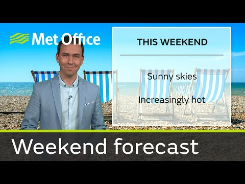 Weekend forecast 17-18 June