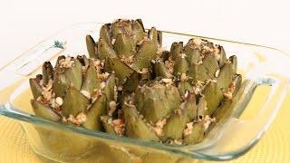 Stuffed Artichokes Recipe - Laura Vitale - Laura In The Kitchen Episode 897