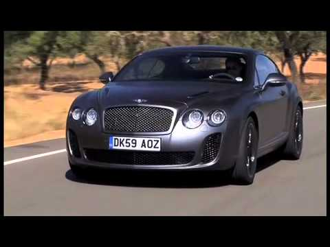 2011 Bentley Continental Supersports Coupe Video 1 Youtube