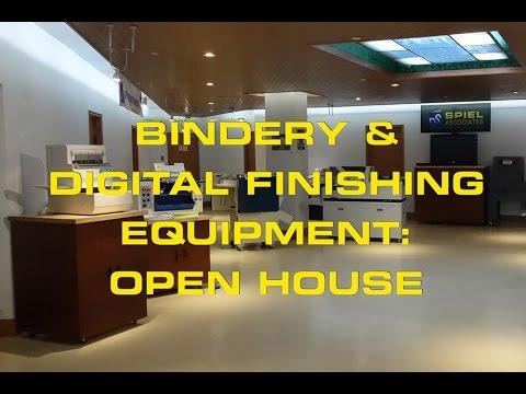 Bindery & Finishing Equipment Open House