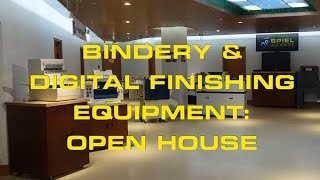 Bindery & Finishing Equipment Open House