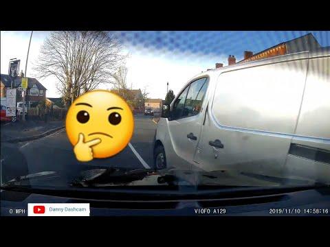 CRASH CAR Vs VAN DO YOU NEED A DUAL DASH CAMERA SYSTEM VIOFO A129 DUO