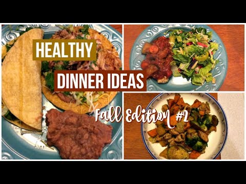 healthy-dinner-ideas-#8-|-fall-edition-#2-|-3-dinners-on-weight-watchers