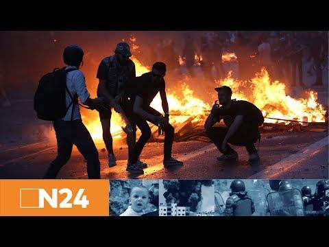 N24 Nachrichten - Hamburg: Das Schanzenviertel wird mit Spezialkräften geräumt