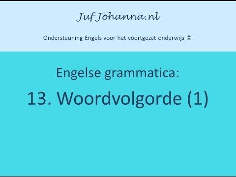 Word order (1/2)