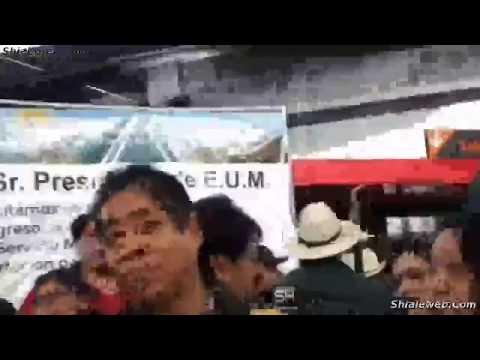 Llegada De AMLO A Tijuana Aeropuerto Hotel Manifestaciones Y Bienvenida