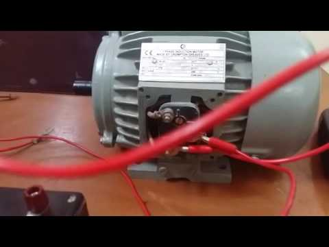 Speed Control Of 3 Phase Induction Motor Using With