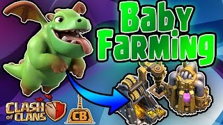 BABY DRAGONS GET LOOT! - Baby Drag Event Gameplay- Clash of Clans - Best Baby Dragon Attacks