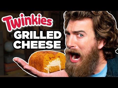 Twinkie Grilled Cheese Loaf Taste Test