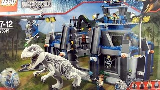 Jurassic World Lego Indominus Rex Breakout 75919 - Time lapse Construction - Dinosaur toys